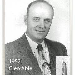 1952 - Glen Able