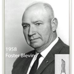 1958 - Foster Blevins