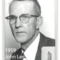 1959 - John Lee