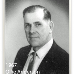 1967 - Ollie Anderson