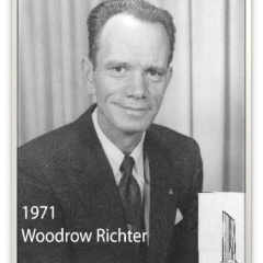 1971 - Woodrow Richter