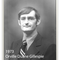 1973 - Orville Duane Gillespie