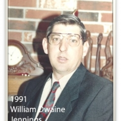 1991 - William Dwaine Jennings